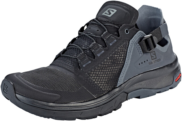 Salomon Techamphibian 4 Sko Damer, blackebonyquiet shade